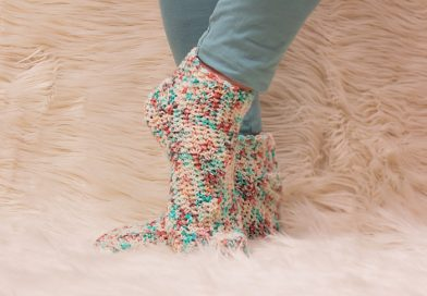 Carribbean Socks Crochet Patterns