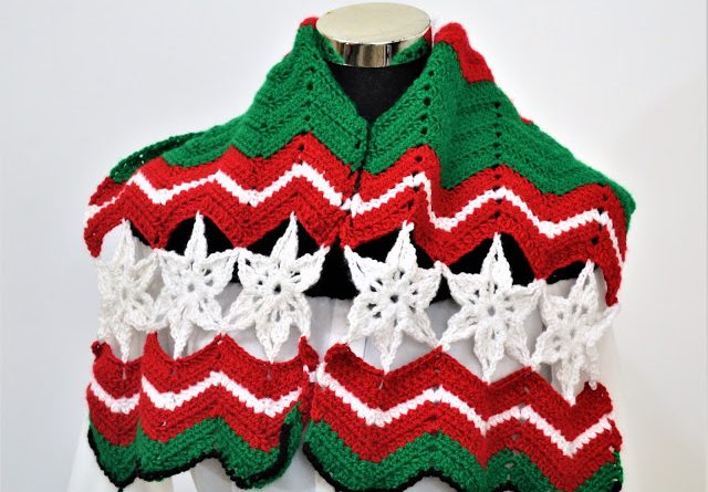 All About Christmas Scarf Patterns